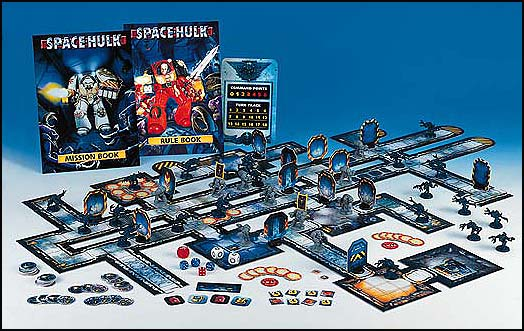 Original Space Hulk Board Game